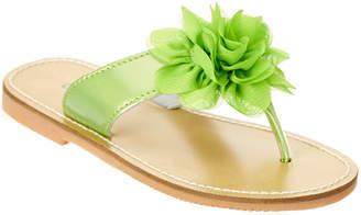 L'amour Girls' Flower Flip-Flop