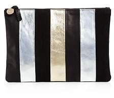 Clare Vivier x STORY Flat Leather Clutch