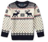 Ralph Lauren Reindeer Cotton-Wool Sweater
