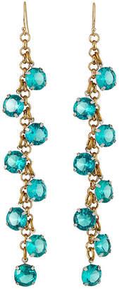 Lulu Frost Vaulted Crystal Cluster Earrings