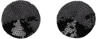 Implicite Black Sequin Nipple Covers
