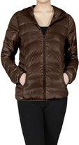 2LUV Women'sLong Sleeve Zip Up Hooded Down Puffy Jacket M (J9720)