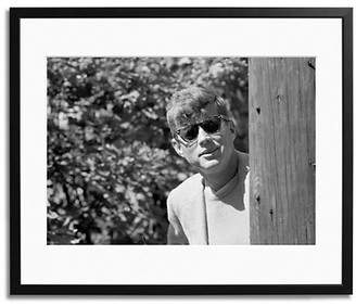 Sonic Editions Kennedy Portrait 1957 Framed Photo