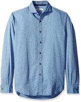 James Campbell Men's Alberni Long Sleeve Solid
