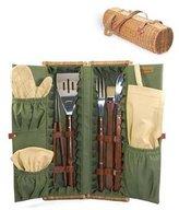 Picnic Time Phoenix Barbeque Set Rattan Carry Case