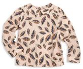 Bonpoint Toddler's & Little Girl's Leaf Print Top