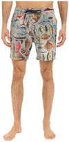 Sperry Swimmin' with Da Fish Volley Shorts