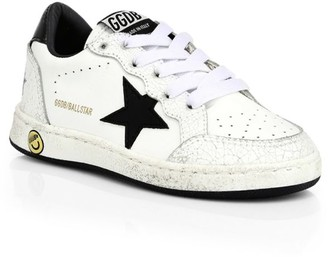 Golden Goose Baby's, Little Boy's & Boy's Ball Star Leather Runners
