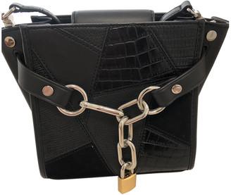 Alexander Wang Attica Black Leather Handbags