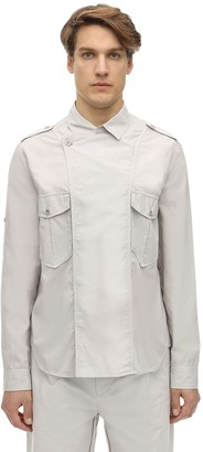 Isabel Marant Double Breasted Cotton Poplin Shirt