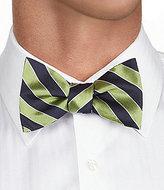 "Daniel Cremieux Bow Up"" Striped Bow Tie"