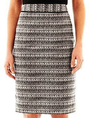 Liz Claiborne Tweed Pencil Skirt