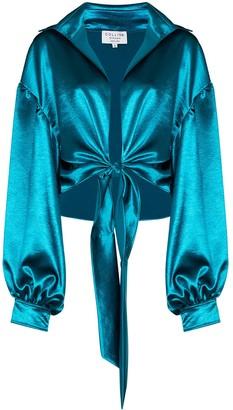 Collina Strada Osho tie-detail blouse