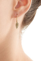Carolina Bucci Owls Wing 18k Gold Earrings with Opal