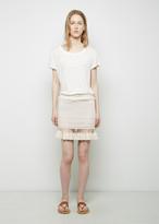 Isabel Marant Tifen Oceanic Fringe Skirt