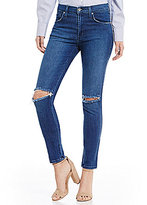 James Jeans High Class Destructed Hi-Rise Skinny Jeans