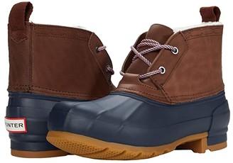 Hunter Pac Boot Short (Burnt Sienna/Navy) Women's Boots
