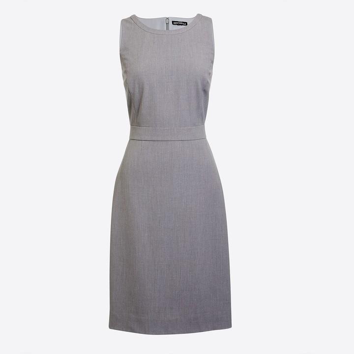 J.Crew Petite sheath work dress