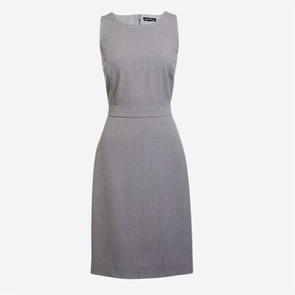 J.Crew Petite sheath work dress