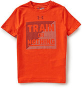 Under Armour Big Boys 8-20 Train or Nothing Short-Sleeve Tee
