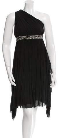 Derek Lam Embellished One-Shoulder Dress