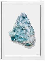 """Timothy Hogan for Kim Salmela Timothy Hogan - Aqua Geode - 30""""L x 40""""W Art"""