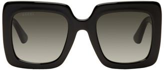 Gucci Black Square Sunglasses