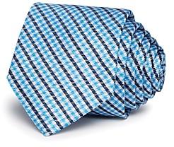Michael Kors Boys' Small-Plaid Silk Tie
