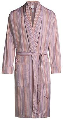 Paul Smith Striped Cotton Robe