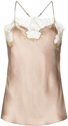 Gilda and Pearl Gina silk camisole top