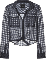 Rails Kelsey Midnight Shadow Check Top