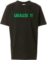 Palm Angels Legalize It T-shirt - men - Cotton - L
