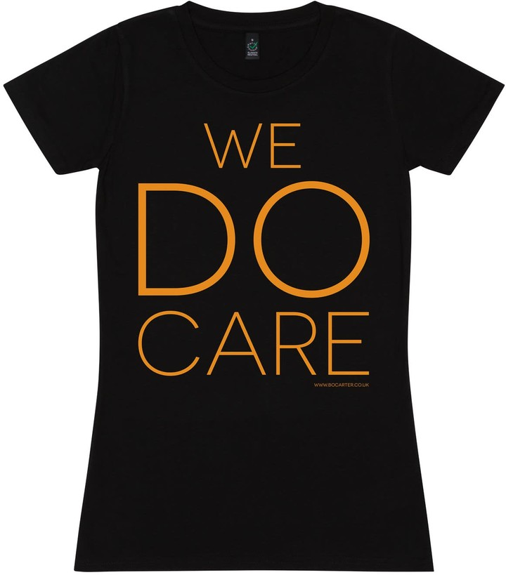 Bo Carter We Do Care T-Shirt (Black)