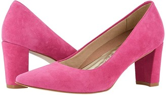 Walking Cradles Samantha (Bright Pink Suede) Women's Shoes