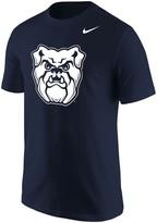 Nike Men's Navy Butler Bulldogs Big Logo T-Shirt