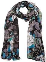 Desigual Women's Foulard_rectangle Troy Winter Scarve,One Size
