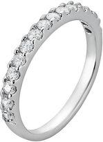Sunstone 925 Sterling Silver Wedding Band - Made with Swarovski Cubic Zirconia