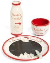Child to Cherish Infant Santa'S Message Plate, Bowl & Bottle Set