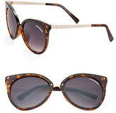 Steve Madden Square 64MM Cats Eye Sunglasses