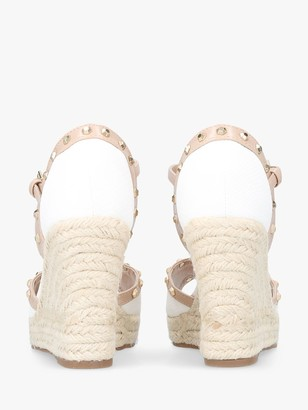 Carvela Stark Wedge Heel Peep Toe Sandals