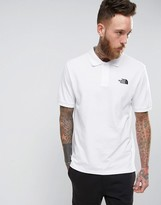 The North Face Pique Polo in White