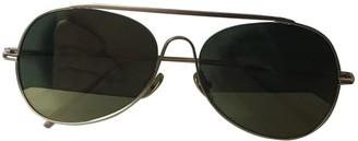 Acne Studios Gold Metal Sunglasses