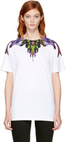 Marcelo Burlon County of Milan Ssense Exclusive White Col T-shirt