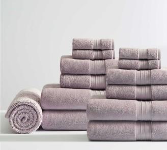 Pottery Barn Hydrocotton Organic Towel Bundle With Bath Mat - Set of 13