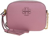 Tory Burch Shoulder Strap Mcgraw Bag Room In Pink Leather