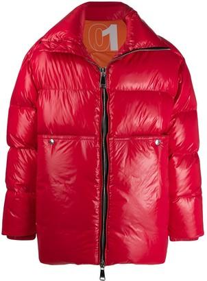 KHRISJOY Loose-Fit Padded Coat