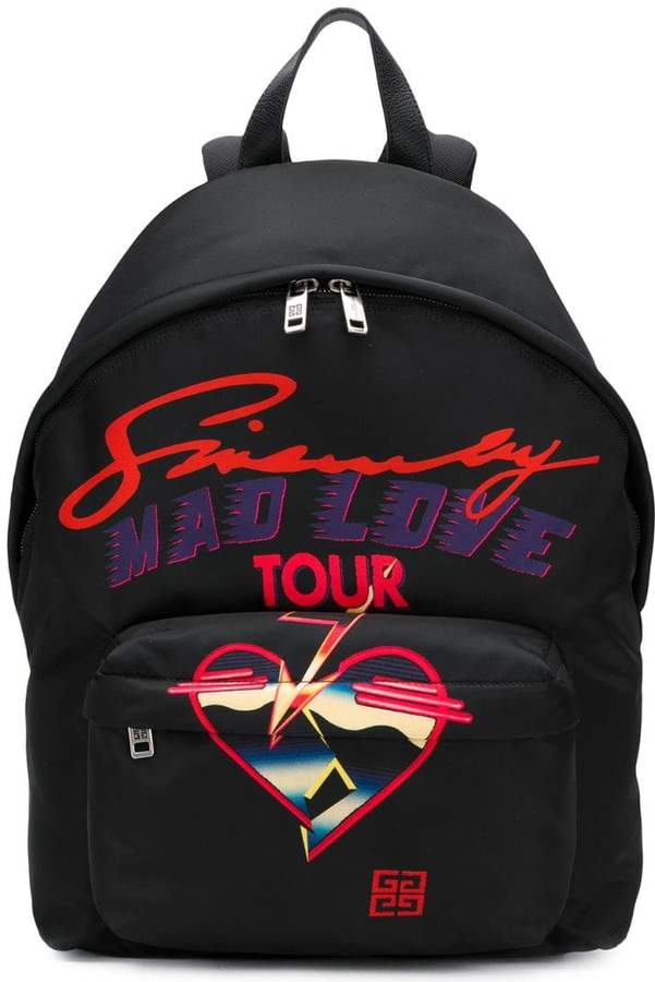 Givenchy Mad Love Tour backpack