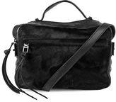 Kooba Blyth Leather-Trim Calf Hair Crossbody Bag