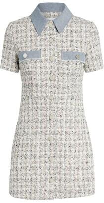 Claudie Pierlot Tweed Mini Dress