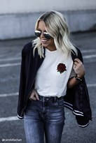 Forever 21 FOREVER 21+ Rose Graphic Tee